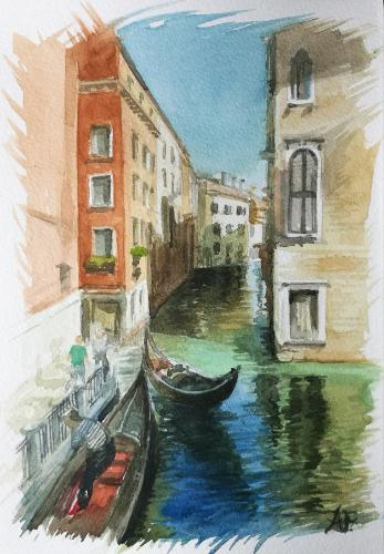 Venezia by Annalisa - Use the 'Create Similar' button to commission an artist to create your own artwork.