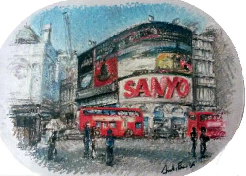 Piccadilly by Annalisa - Use the 'Create Similar' button to commission an artist to create your own artwork.