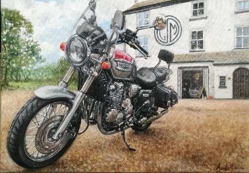 Artwork Motorbike commission