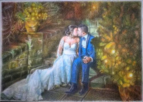 Artwork Wedding anniversary