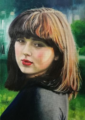 Artwork Surprise Birthday Portrait