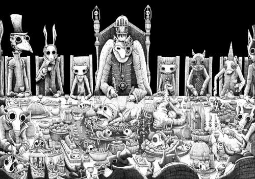 Artwork 'The Banquet of the child beast'