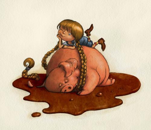 Artwork Pig tales