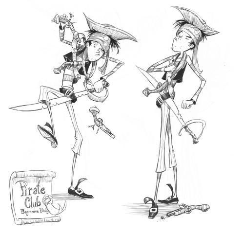 Artwork Amateur pirate