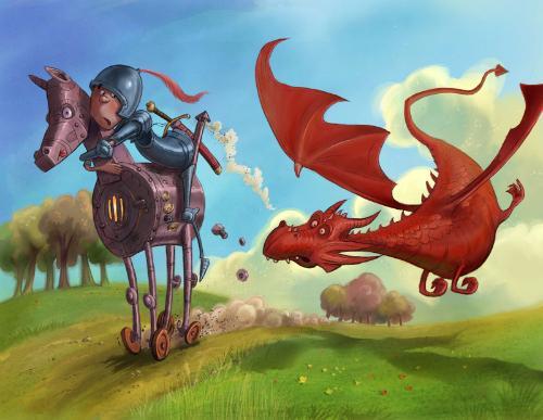 Artwork Chasing Dragon
