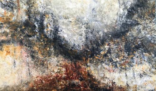 Artwork Rain on Bonfire Hill