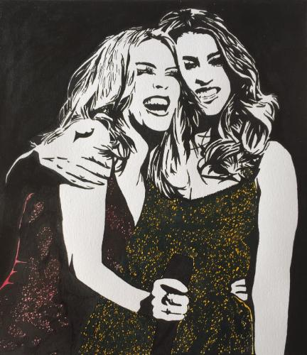 Artwork Kylie and Dannii Minogue 100 Degrees