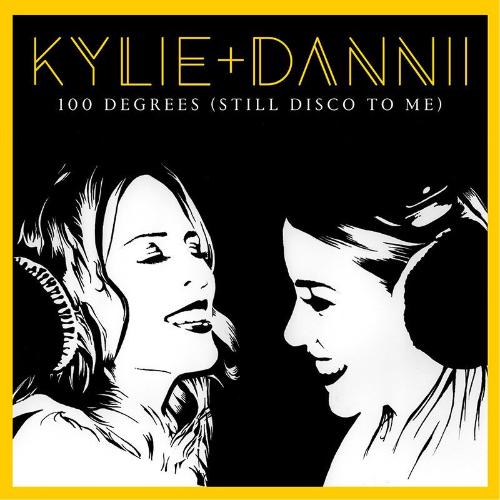 Artwork Kylie and Dannii Minogue EP cover for 100Degrees