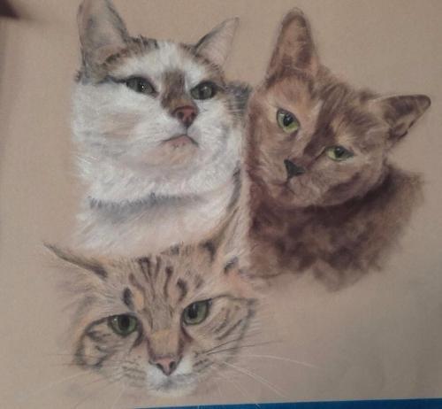 Artwork Cute trio