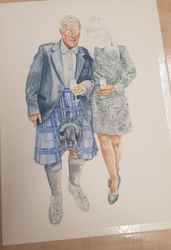 Watercolour commission by Toria - Use the 'Create Similar' button to commission an artist to create your own artwork.