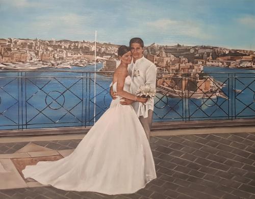 Artwork Wedding in Malta