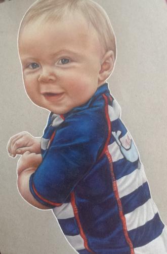 Artwork Baby drawing