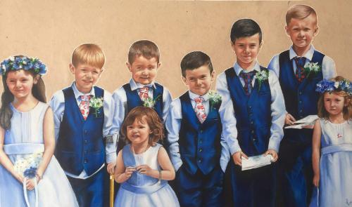Artwork Young Bridal Party