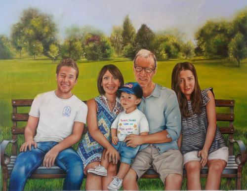 Artwork Family Portrait.