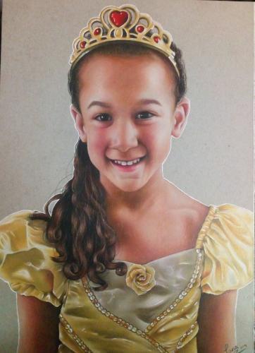 Artwork Birthday day princess