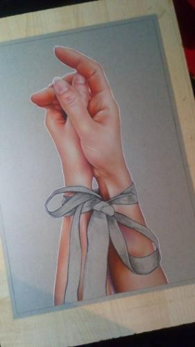 Hands by Toria - Use the 'Create Similar' button to commission an artist to create your own artwork.