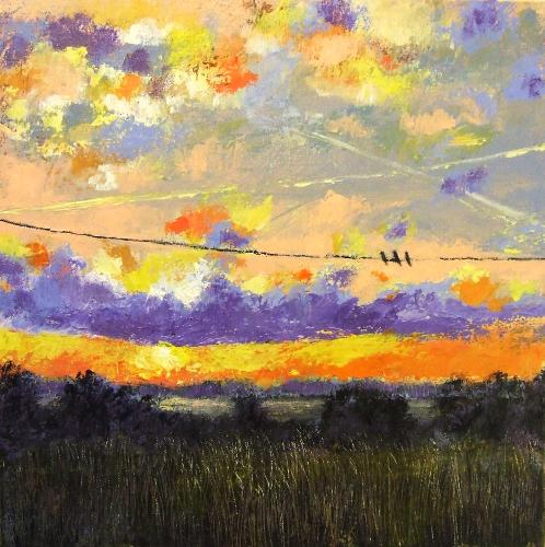 Artwork Birds on a Wire