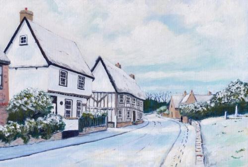 Artwork High Street, Swaffham Bulbeck