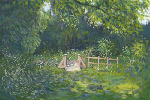 Artwork Gutterbridge Woods, Swaffham Bulbeck