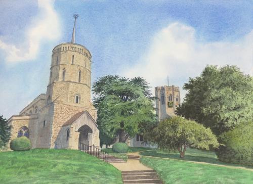 Artwork Swaffham Prior Churches