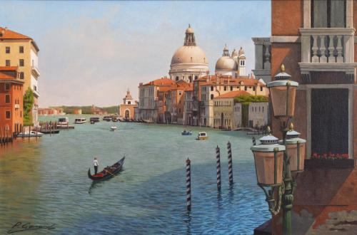 GRAND CANAL VENICE by PGART - Use the 'Create Similar' button to commission an artist to create your own artwork.